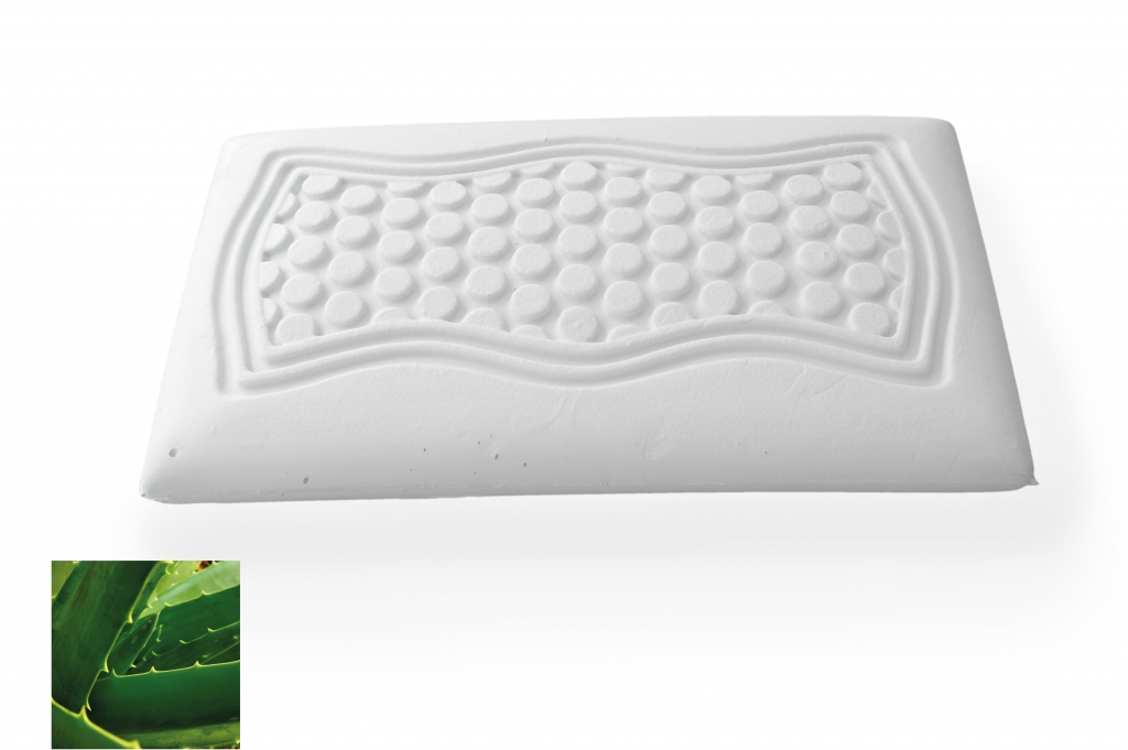 aloe vera massage memory foam pillow. Black Bedroom Furniture Sets. Home Design Ideas